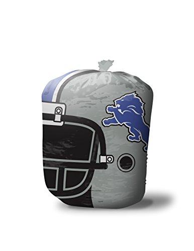 Fabrique Innovations NFL Stuff-A-Helmet Lawn & Leaf Bag, Detroit Lions