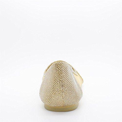 London Footwear - Ballet mujer dorado