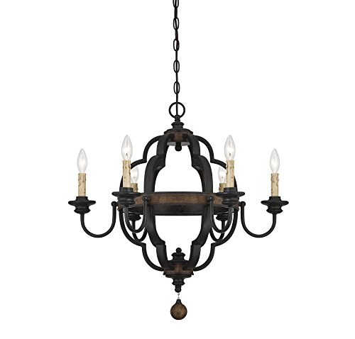 Savoy House Six Light (Savoy House 1-8903-6-41 Kelsey 6-Light Chandelier in Durango)