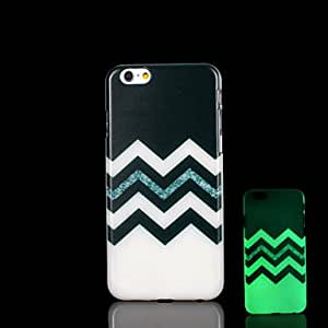 HJZ Aztec Mandala Pattern Glow in the Dark Case for iPhone 6 Cover