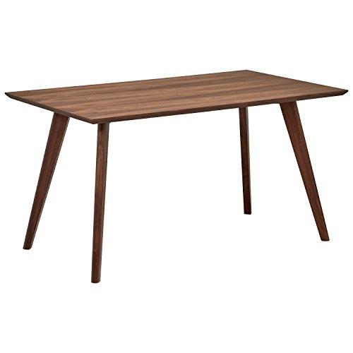 Mid Century Dining Table: Rivet Mid-Century Minimalist Dining Table, 53