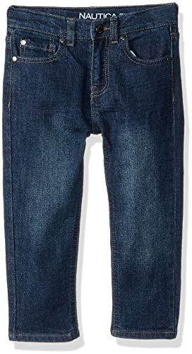 - Nautica Boys' Little Slim Straight Jeans, Stanley Hydraulic, 5