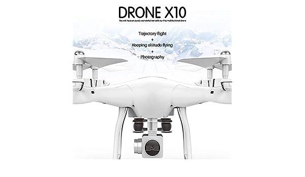 ZYSMC Drone, FPV Drone aéreo de Alta definición Mini Plegable 2.4 ...