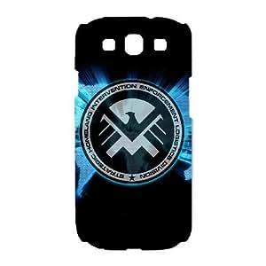 Samsung Galaxy S3 I9300 Phone Case White s.h.i.e.l.d HCM090913