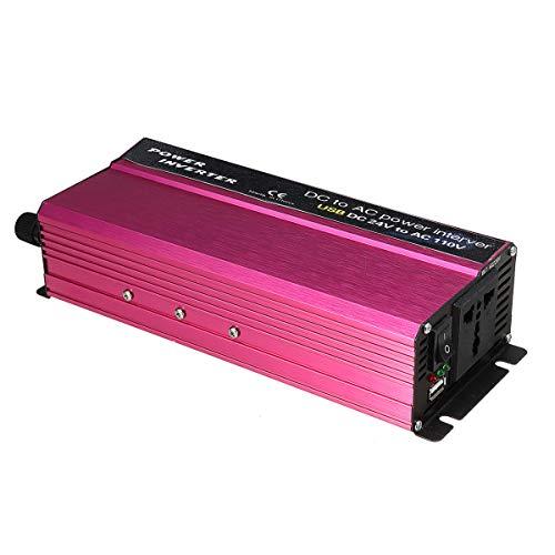 Anddoa 1500W LED Solar Power Inverter 12/24V to 110/220V Modified Sine Wave Converter - 12V-220V by Anddoa (Image #3)