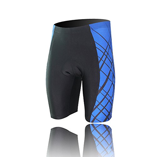 Spoz Men Short Sleeve Cycling Padded Shorts XXXL