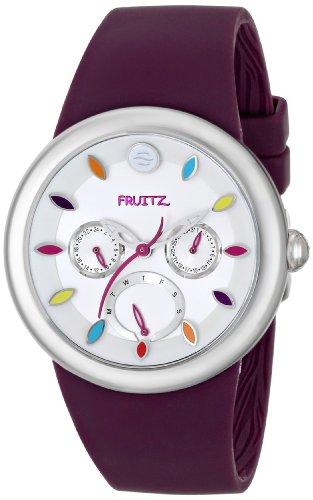 Fruitz by Philip Stein Unisex F43S-TF-PR Stainless Steel Watch With Purple Band by Fruitz by Philip Stein