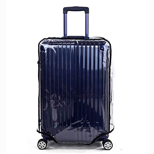 tebisi Luggage Case Protective Cover Transparent for 20//22//24//26//28//30 Inch Luggage Cover PVC Travel Suitcase Protective Cover Luggage Cover Suitcase Protector