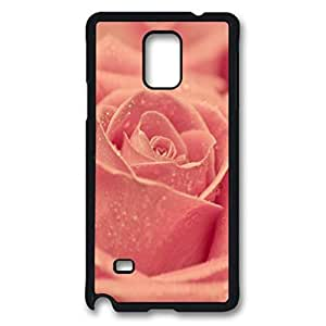 iCustomonline Flowers Back Cover Snap on Case for Samsung Galaxy Note 4