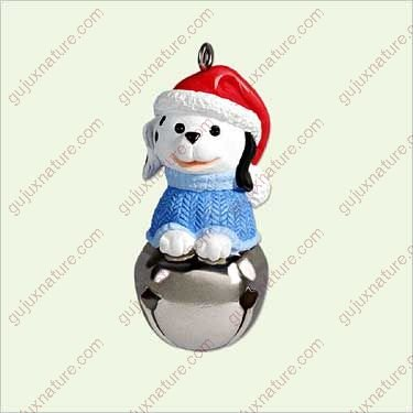 CHRISTMAS BELLS #11 - DOG 2005 Hallmark Ornament QXM8975