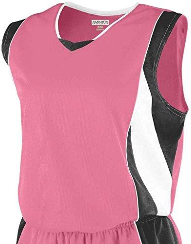 Augusta - Camiseta de tirantes - para mujer Pink/Black/White