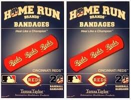- Cincinnati Reds Bandages x 2 box (total 40 pcs)