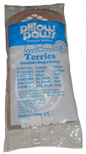 Princip Affärsföretag Dubbla Avtryck Terries Toffel Sockor Extra Stor Vuxen - 48 Par