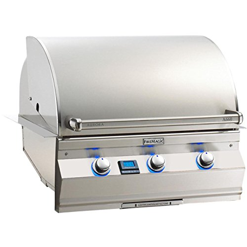 - Fire Magic Aurora A660i 30-inch Built-in Propane Gas Grill With One Infrared Burner - A660i-5l1p
