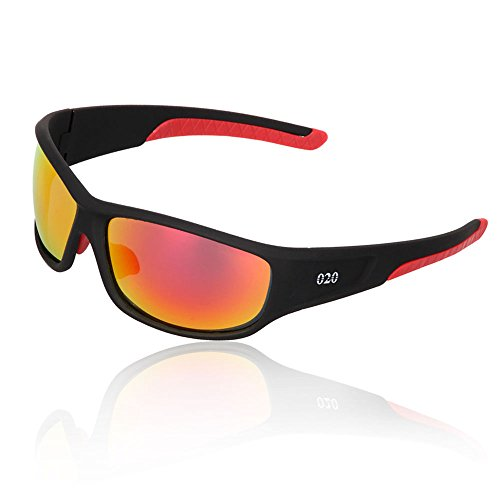 O2O Top [Polarized] Sports Sunglasses [Tr90] [Superlight Weight] Frame [Classic Design] for Men Women Teens Youth Cycling Driving Golf Fishing Hiking - Sport Sunglasses Top