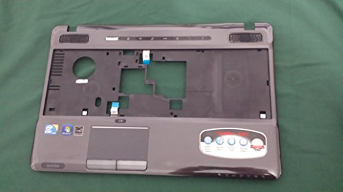 Toshiba Power Button - Toshiba A665 A665D Palmrest Touchpad Power Button Speaker Set K000105540