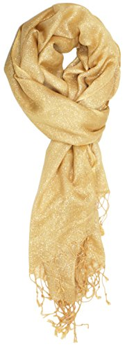 Shimmer Scarf (Ted and Jack - Hollywood Dreams Sparkling Metallic Scarf (Festive Gold))