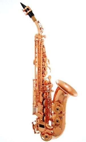 LA Sax LA-SAXSOP-SIG-CPPR Soprano Saxophone