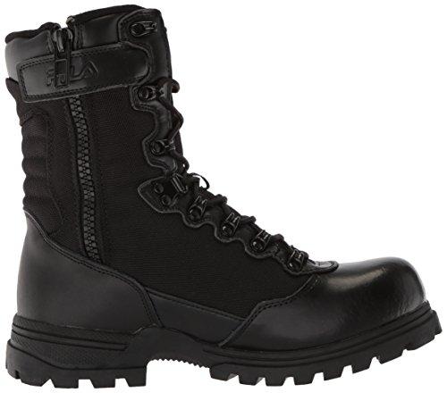 Fila Mens Stormer Military and Tactical Boot Black/Black/Black F2jMq