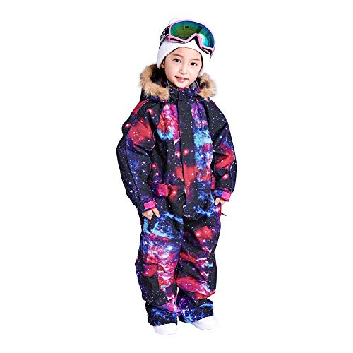 Bluemagic Little Kid's One Piece Overall Snowsuits Ski Suits Jackets Coats Jumpsuits