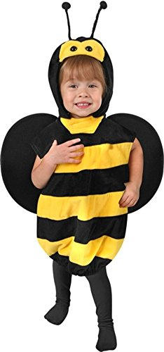 Child's Toddler Plush Bee Costume (Size: 2T-4T)]()