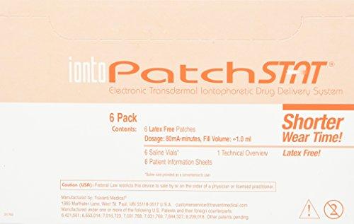 IontoPatch STAT Iontophoresis Delivery System, 6 Kits/Box
