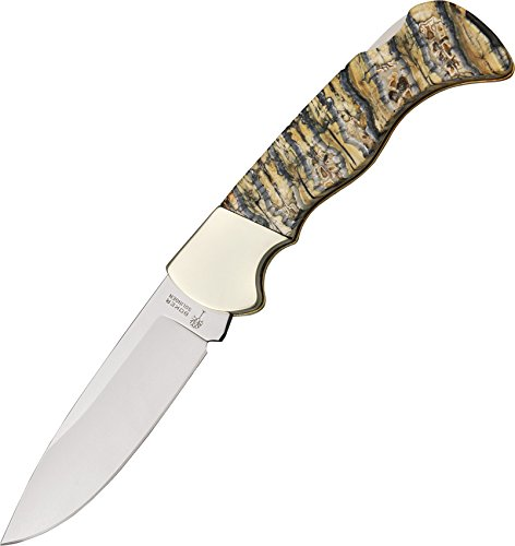 Boker 110146 Mammut I with 3 1/8 in. - Tooth Mammoth Scales