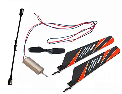 Yoton Accessories V911-02 Main Rotor Blades + V911-06 Tail Blade Tail Motor Balance Bar Parts for 4ch V911 V911-1 V911-2 RC Helicopter - (Color: - Tail Blade Rotor 06