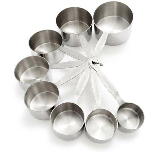 Sur La Table Stainless Steel Measuring Cups Hz509042   Set Of 8