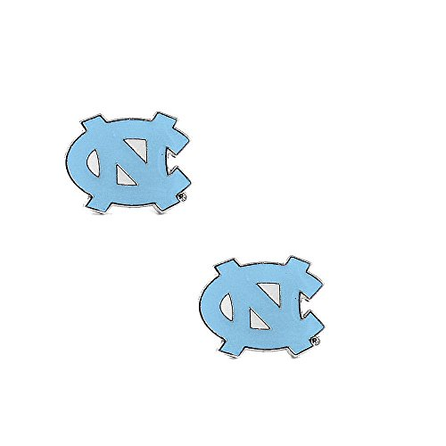 aminco North Carolina Tarheels Unc Post Stud Logo Earring Set Ncaa Charm Gift