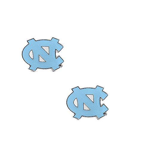 (aminco North Carolina Tarheels Unc Post Stud Logo Earring Set Ncaa Charm Gift)