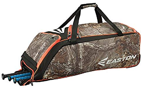 Custom Player Equipment Bag - Easton E510W Wheeled Bag, Real Tree
