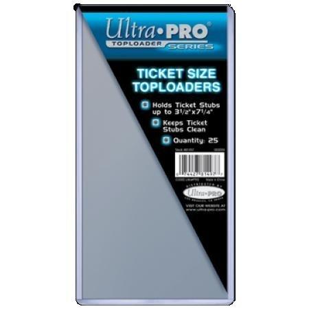 Ultra Pro Ticket Toploader 25ct
