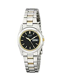 Citizen WoMen's EQ0564-59E  Quartz Watch in Two-Tone Stainless Steel