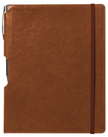 Rhythm Journal with Free Pen: Terracotta, Large 10 pcs sku# 1796361MA