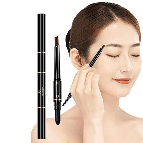 Waterproof Eyebrow Pencil, 3 Colors, Air Cushion, Triad, Natural Long-Lasting Eyebrow Color (Coffee)