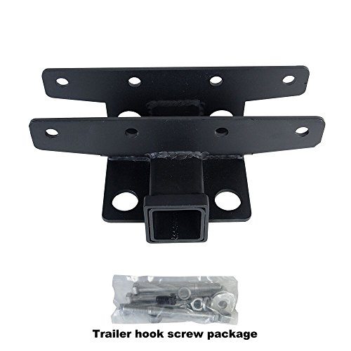 """Liteway 2"""" Towing Rear Wrangler Trailer Receiver Hitch 07-16 Jeep JK 2 Door & 4 Door"""