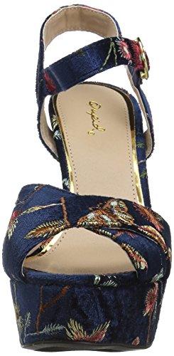 Sandal Beat Qupid Women's Multi Navy 83 Heeled w0ZZSq