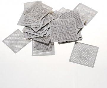 Hohe Qualität 33pcs Wärme direkt Rework BGA Reballing Schablone Template Set