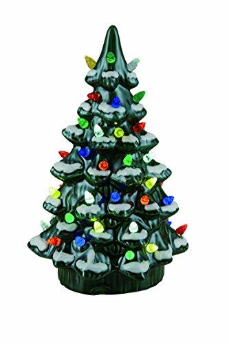 Transpac Ceramic Light up Nostalgic Tree