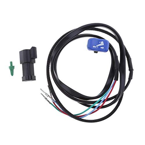 - Baoblaze Outboard Remote Control Power Trim&Tilt Switch 5006358 For Johnson Evinrude