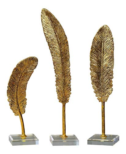 Uttermost Feathers Sculpture - Set of 3
