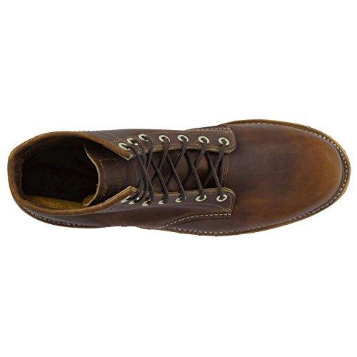 Chippewa Mens 1901g31 Stivali Di Pelle Marrone Chiaro