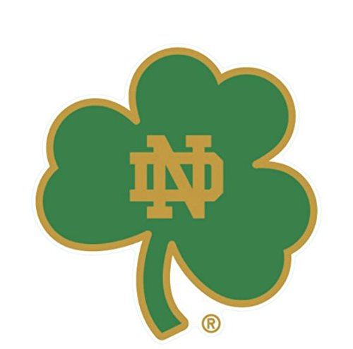 (WinCraft Notre Dame Fighting Irish Shamrock 4