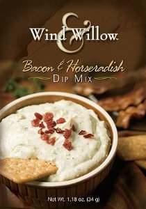 Wind & Willow Bacon & Horseradish Dip, 1.18-ounce Boxes (Pack of 4)