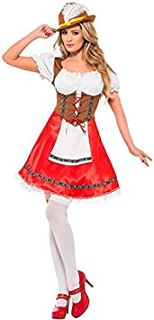 DISBACANAL Disfraz Tirolesa Oktoberfest - -, M: Amazon.es ...