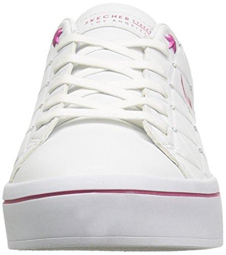 White Sneaker Lite Women Street Brights Bermuda Fuchsia White Hi Skechers wpx4qYw