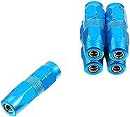 VICASKY 5 peças de reposição para mamilo de aço carbono bocal pulverizador ferramenta azul