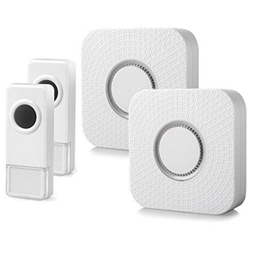 Wireless Doorbell, Karia Portable Wireless Door Bell Chime 2