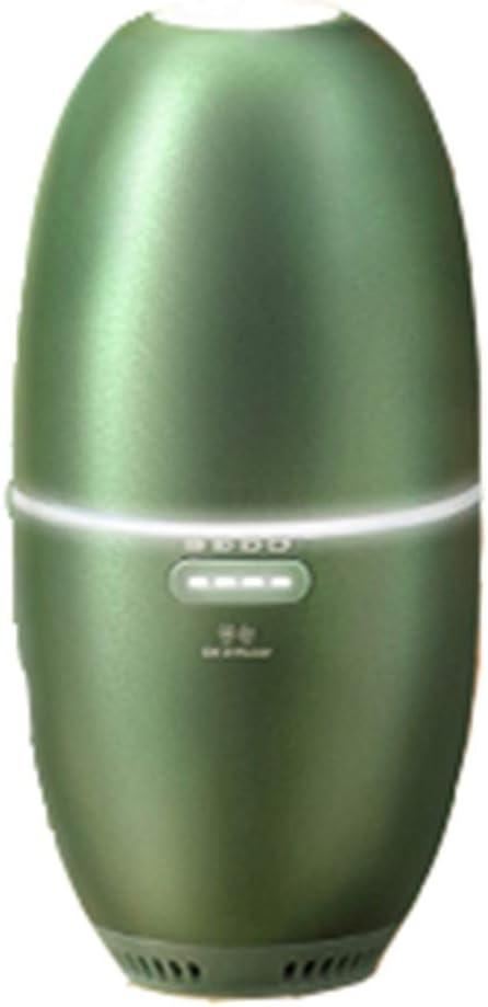 ワイヤレスアロマディフューザー 家庭用小型スプレー ポータブルディフューザー アロマディフューザー スモークオーブン 寝室用スリープスプレー (Color : Green, Size : 9*9*16cm)